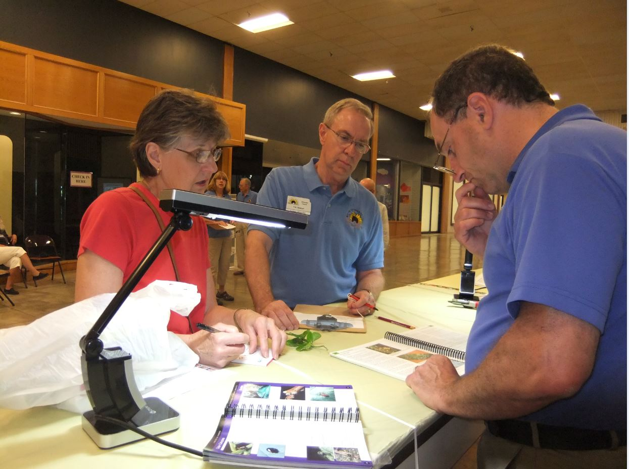 Master Gardeners at 2016 Sick Plant Clinic