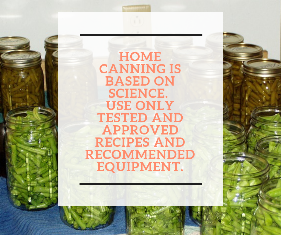 Safe Canning Tips